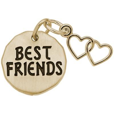 BEST FRIENDS TAG W/HEART