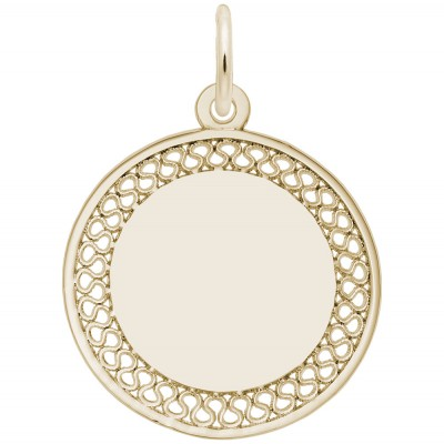 FILIGREE DISC SMALL