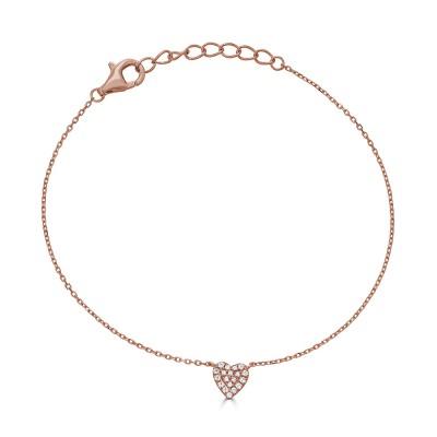 Sachs Signature Heart Bracelet