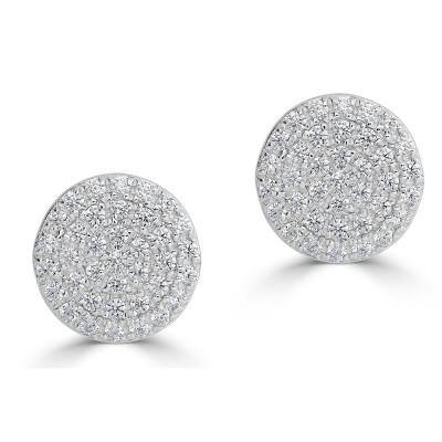 Sachs Signature Circle Stud Earrings