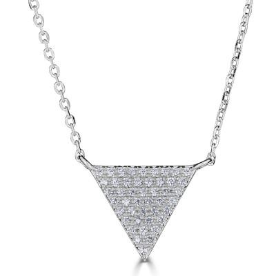 Sachs Signature Triangle Necklace