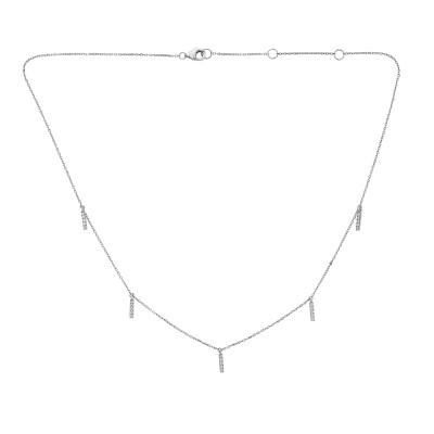 Sachs Signature Hanging Bar Necklace