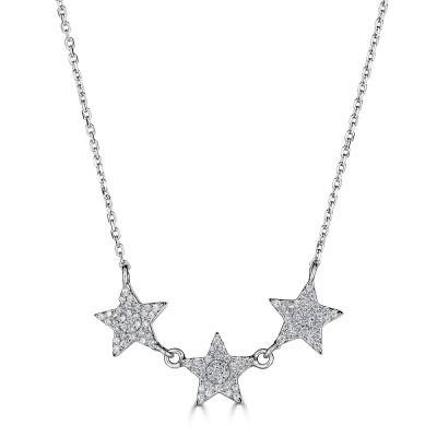 Sachs Signature 3 Star Necklace