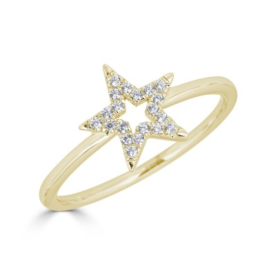 Sachs Signature Open Star Ring