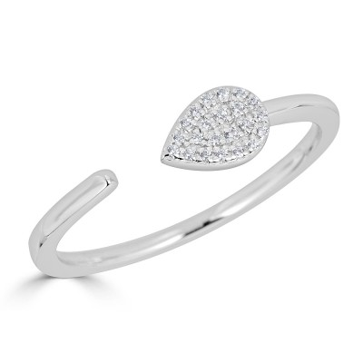 Sachs Signature Open Pear Ring