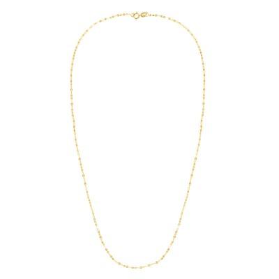 "14K Yellow 18"" Vintage Mariner Necklace"