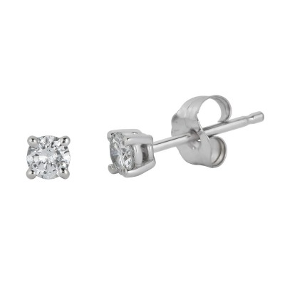 Sachs Signature Stud .20ctw Stud Earrings