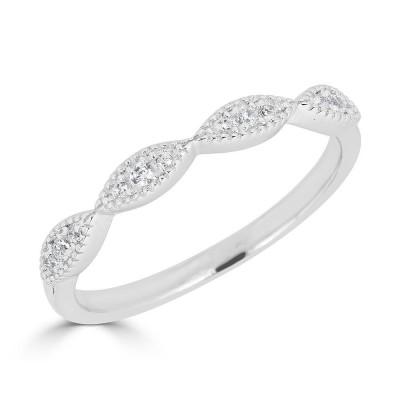 Sachs Signature Stackable mq Milgrain Ring