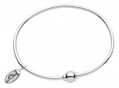 SS Single Bead Cape Cod Bracelet