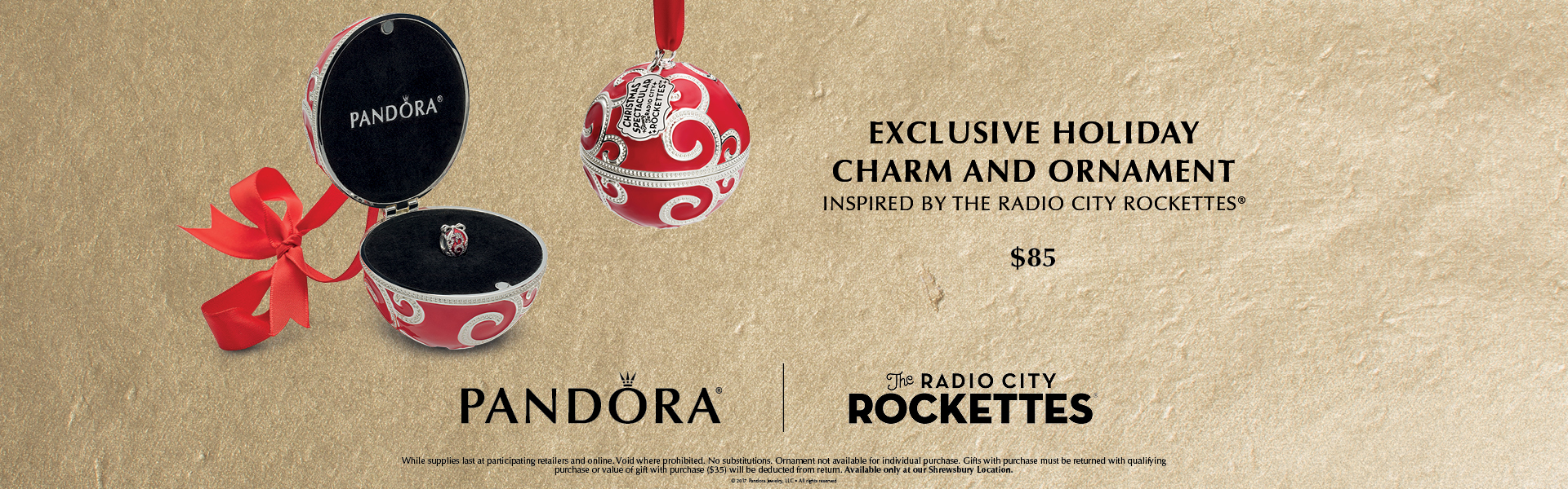 Pandora Rockettes Charm!