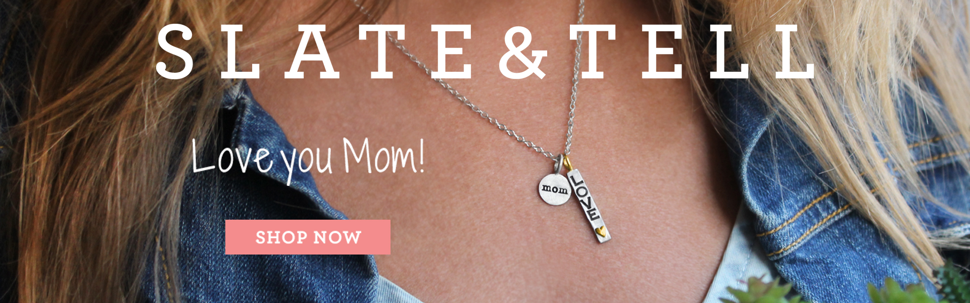 Slate and Tell Personalize Mothers Day!