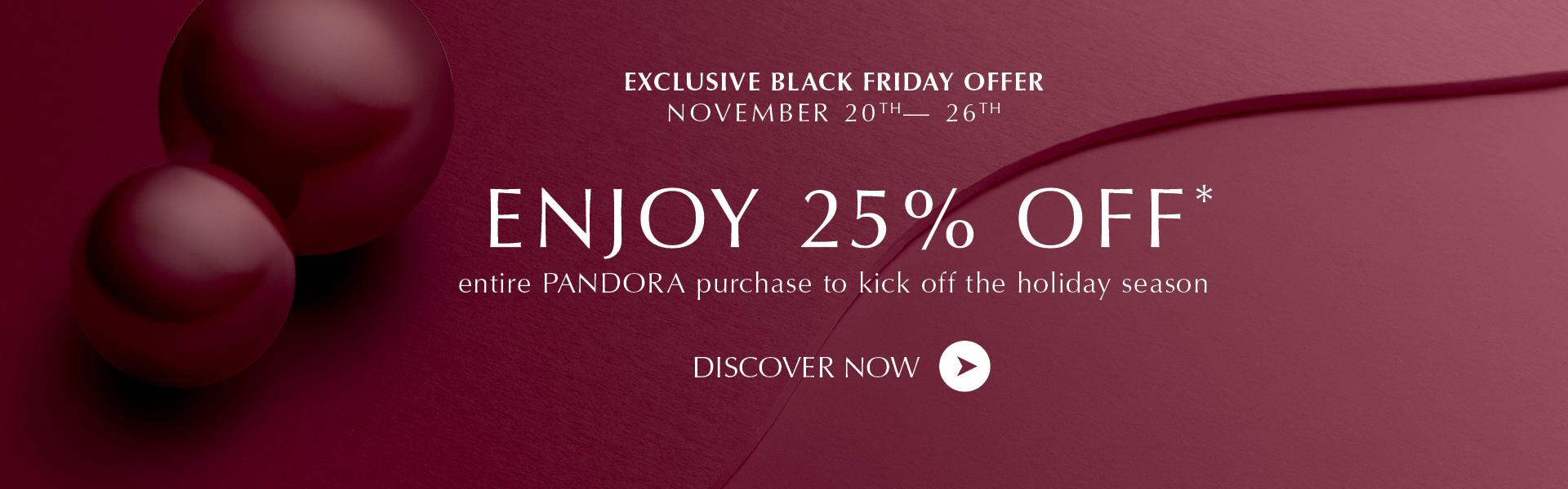 Pandora Black Friday Sale